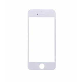 Apple iPhone 5G / iPhone 5S / iPhone 5C LCD ekrāna stikliņš (balts) - OEM